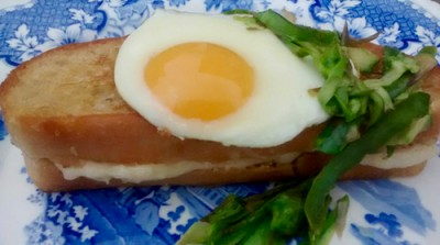 Croque Madam Without The Ham!