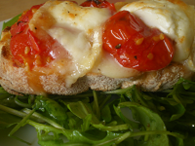 Ragstone Goats Cheese With Roasted Cherry Tomatoes