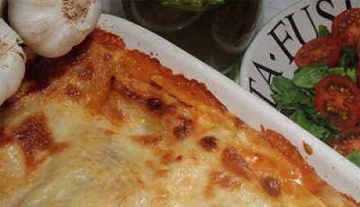 Homemade Minced Beef Lasagne